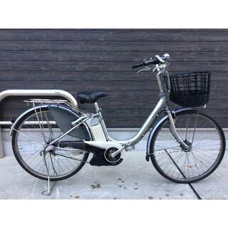 ヤマハ(ヤマハ)の地域限定送料無料 ヤマハ パス 新基準 6AH シルバー 神戸市 電動自転車(自転車本体)