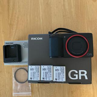 RICOH - RICOH リコー GR GR 3と純正バッテリー3個 純正充電器