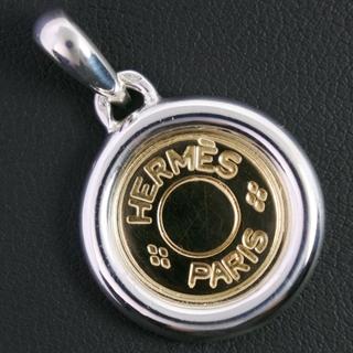エルメス(Hermes)のエルメス セリエ シルバー K18ゴールド ゴールド レディース ペ(その他)