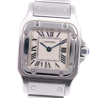 カルティエ(Cartier)のカルティエ サントスガルベSM W20056D6 SS クオーツ レ(腕時計)