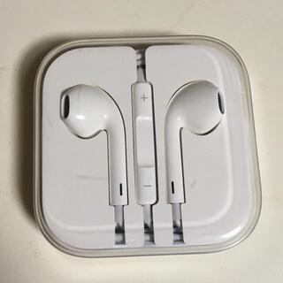 Apple - apple 純正イヤホン 未使用 アップル イヤフォン マイク付き  通話可能