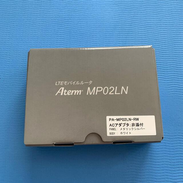 NEC(エヌイーシー)のLTE モバイルルーター NEC PA-MP02LN スマホ/家電/カメラのPC/タブレット(PC周辺機器)の商品写真