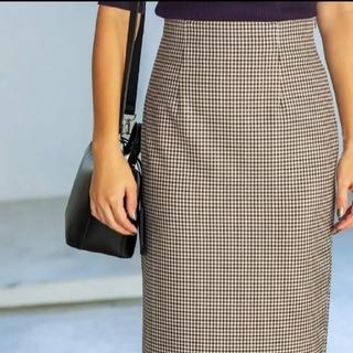 スタイルデリ(STYLE DELI)のスタイルデリ チェック柄ペンシルスカート (ひざ丈スカート)