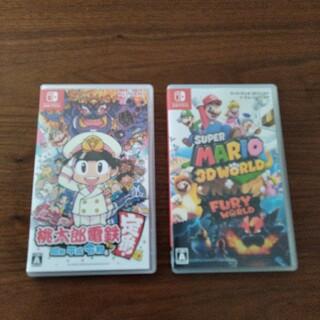 Nintendo Switch - 美品 桃太郎電鉄 マリオ3Dワールド 任天堂スイッチソフト switch  桃鉄