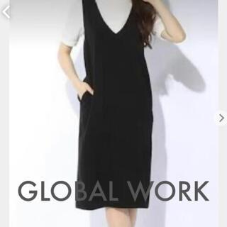 グローバルワーク(GLOBAL WORK)のグローバルワーク ジャンスカ ワンピース(ひざ丈ワンピース)