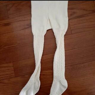 アンパサンド(ampersand)の白タイツ 80~90サイズ(靴下/タイツ)