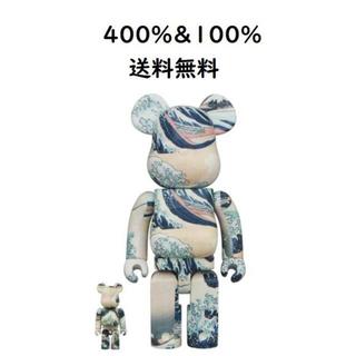 メディコムトイ(MEDICOM TOY)のBE@RBRICK 葛飾北斎「神奈川沖浪裏」 100% & 400%(その他)