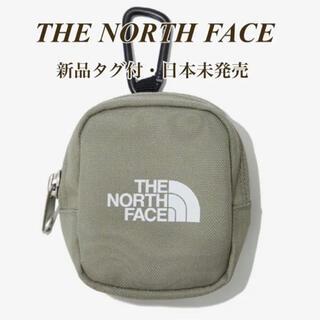 THE NORTH FACE - 【新品タグ付】ノースフェイス ミニポーチ カーキ TEA ホワイトレーベル
