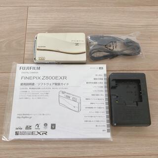 フジフイルム(富士フイルム)の美品✨FUJIFILM Z800EXR デジカメ(コンパクトデジタルカメラ)