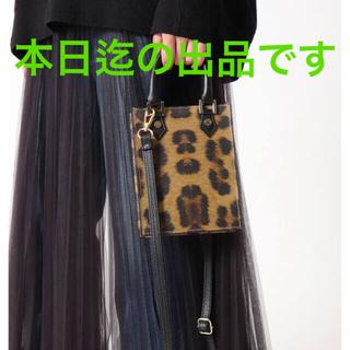DEUXIEME CLASSE - 【AULENTTI/オーレンティ】 スクエアミニバッグ レオパードミニバッグ
