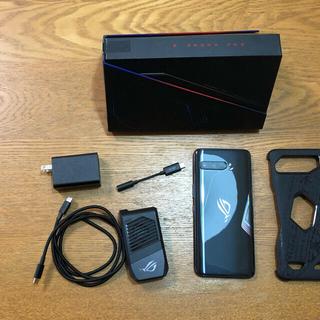 エイスース(ASUS)のROG Phone 3 ZS661KS-BK512R12(スマートフォン本体)