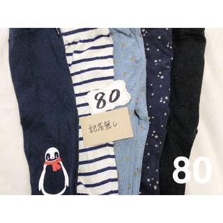 ミキハウス(mikihouse)の5枚セット 80サイズ レギンス レギパン 男の子 女の子 (パンツ)