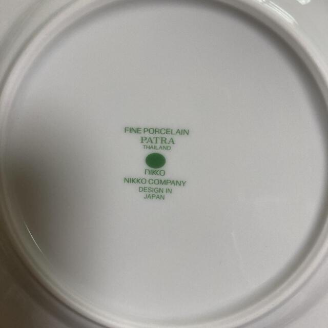 NIKKO(ニッコー)の新品⭐︎NIKKO ニッコー パトラポーセリン ケーキ皿 5枚 インテリア/住まい/日用品のキッチン/食器(食器)の商品写真