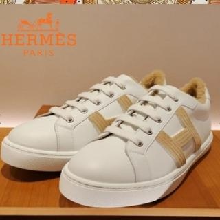 Hermes - 2021エルメス⭐ムートン スニーカー⭐Avantage H Tuffet