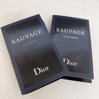 ディオール(Dior)のソヴァージュ サンプル(香水(男性用))