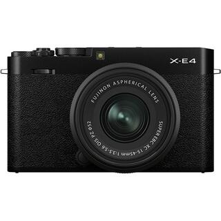 新品 未開封 FUJIFILM X-E4 レンズキット ブラック(ミラーレス一眼)