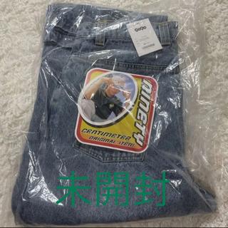 9090 × centimeter Wide Denim Pants霜降りブルー