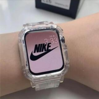 Apple Watch - Apple Watch クリアバンド 44㎜