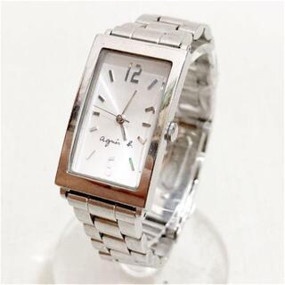 アニエスベー(agnes b.)のアニエスベー クォーツ時計 電池交換済み稼働中 18631934(腕時計)