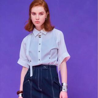 ステュディオス(STUDIOUS)のUNITED TOKYO フロースリーブタックシャツ 新品(シャツ/ブラウス(半袖/袖なし))