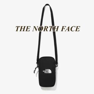 THE NORTH FACE - 【新品タグ付】ザノースフェイス シンプルミニバッグ ブラック ショルダー スマホ