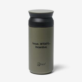 W)taps - H2O 350ML / BOTTLE / STEEL. KINTO OLIVE