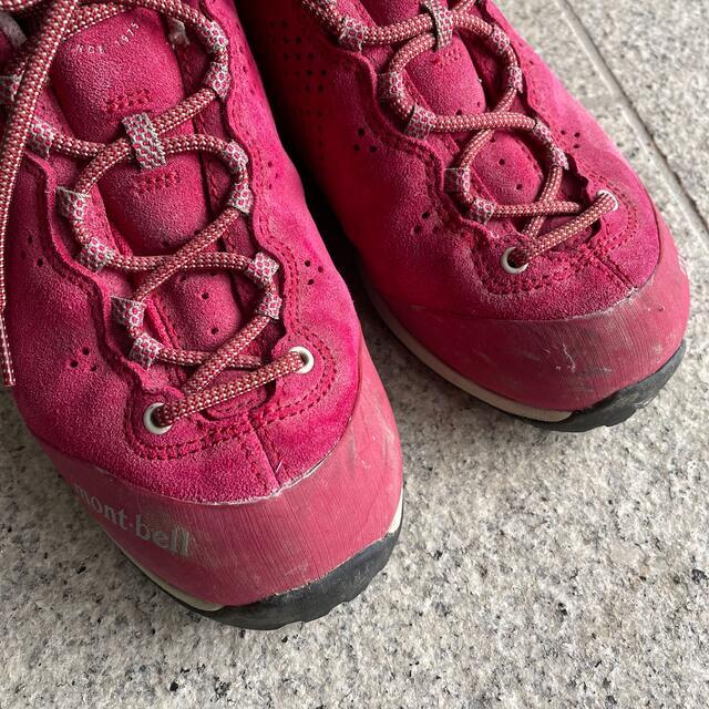 mont bell(モンベル)のモンベル 登山靴 22.5 スポーツ/アウトドアのアウトドア(登山用品)の商品写真