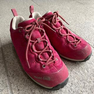 mont bell - モンベル 登山靴 22.5
