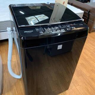 (洗浄・検査済み)ハイセンス 洗濯機 5.5kg 2016年製