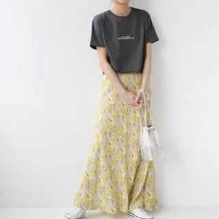 JOURNAL STANDARD - レトロフラワープリントマーメイドスカート