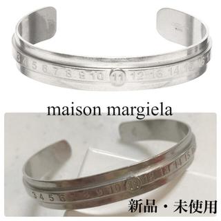マルタンマルジェラ(Maison Martin Margiela)のmaison margiela メゾンマルジェラ numberブレスレット新品L(バングル/リストバンド)