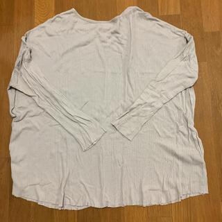 トゥデイフル(TODAYFUL)のトゥデイフル ランダムリブオーバーロングTシャツ(Tシャツ(長袖/七分))