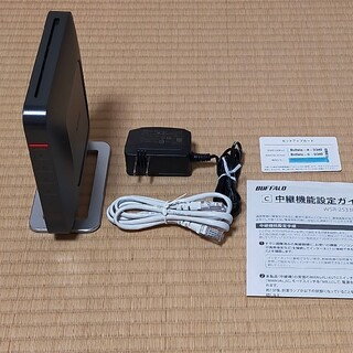 Buffalo - WiFiルーター WSR-2533DHP 黒