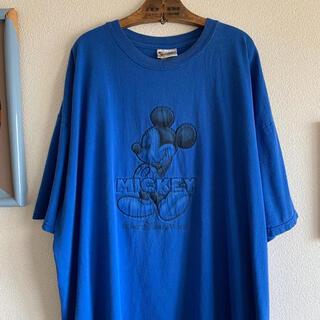 Disney - 90s 超希少 ディズニー ヴィンテージTシャツ ミッキー mickey XXL