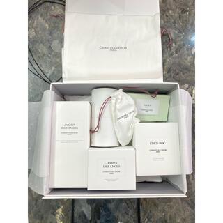 ディオール(Dior)のDior 6点セット ボディソープ ボディクリーム 香水 キャンドル 石鹸(ボディソープ/石鹸)