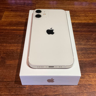 iPhone - 【超美品】iphone 12mini 256gb ホワイト sim free