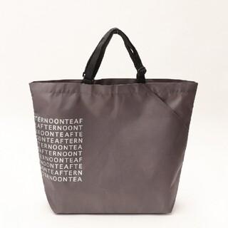 アフタヌーンティー(AfternoonTea)の新品未使用 アフタヌーンティー スリットポケット付きロゴバッグL(エコバッグ)