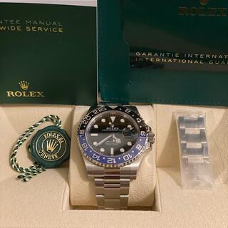 ROLEX - Rolex GMTマスターII 126710blnr オイスターブレス ①