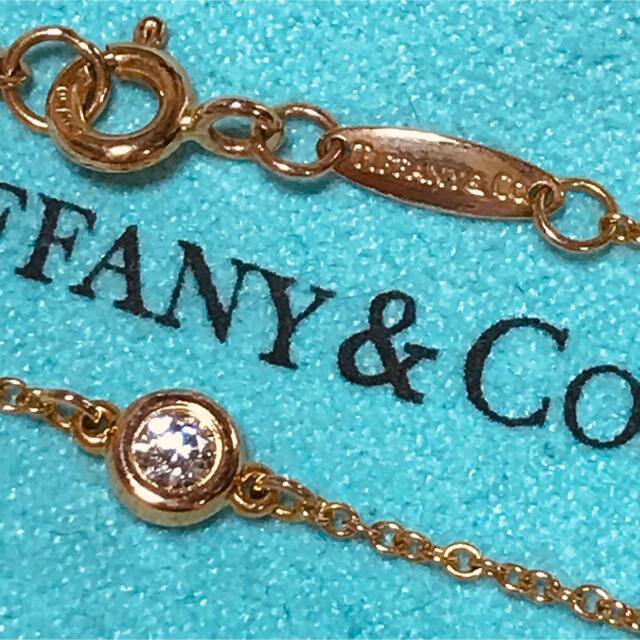 Tiffany & Co.(ティファニー)のTiffanyティファニーバイザヤードブレスレット0.1ct レディースのアクセサリー(ブレスレット/バングル)の商品写真