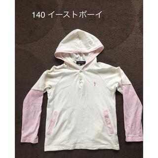 イーストボーイ(EASTBOY)の140 イーストボーイ フード付ロンT  Tシャツ(Tシャツ/カットソー)