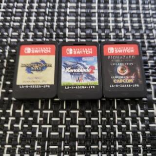 Nintendo Switch - Switchソフト三点