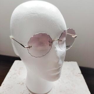 Chloe - Chloe フラワーサングラス pink      (春色 桜色 花形 花柄)