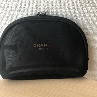 CHANEL - 新品 CHANEL ノベルティポーチ メッシュポーチ 正規品