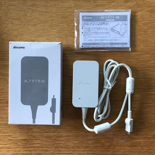 NTTdocomo - ★未使用★NTT docomo 純正ACアダプター 05 Micro USB端子