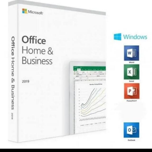 Microsoft(マイクロソフト)のOffice2019 Home&Business Office 2019 スマホ/家電/カメラのPC/タブレット(PC周辺機器)の商品写真