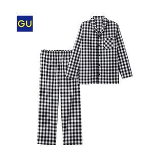 ジーユー(GU)のGU ギンガムチェックパジャマ(パジャマ)