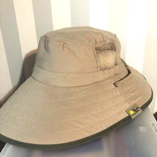コストコ(コストコ)のコストコ★つばの広い帽子★ベージュ(麦わら帽子/ストローハット)