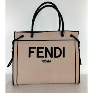 FENDI - フェンディ トートバッグ ローマショッパー ROMA ロゴ ラージ 20AW 鞄