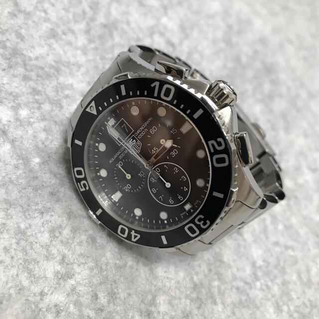TAG Heuer(タグホイヤー)のタグホイヤー アクアレーサー CAN1010.BA0821 ブラック 44mm メンズの時計(腕時計(アナログ))の商品写真