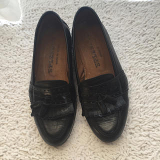 25㎝EEE ローファー黒(ローファー/革靴)